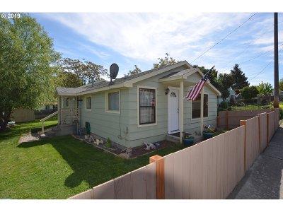 Pendleton Single Family Home For Sale: 814 SE 8th St
