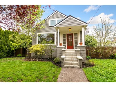 Single Family Home For Sale: 5226 SE 18th Ave