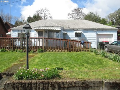 Willamina Single Family Home For Sale: 329 SW Maple St