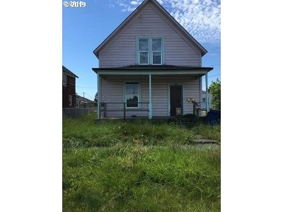 Cowlitz County Single Family Home For Sale: 701 S 5th Ave