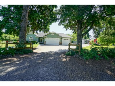 Aumsville Single Family Home For Sale: 5744 Shaw Hwy