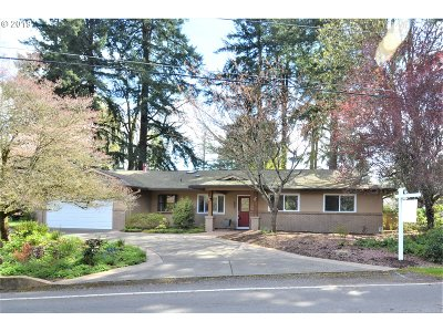 Single Family Home For Sale: 14580 Uplands Dr