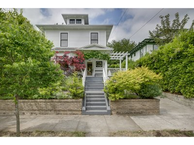 Clackamas County, Multnomah County, Washington County Single Family Home For Sale: 4845 N Williams Ave