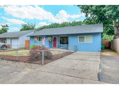 Single Family Home For Sale: 6623 SE 90th Ave