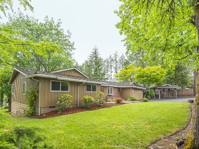 Tigard Single Family Home For Sale: 15555 SW Bull Mountain Rd