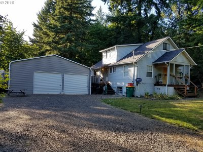 Gaston Single Family Home For Sale: 7171 SW Mill Rd