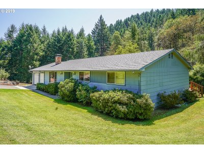Roseburg Single Family Home For Sale: 451 Woodruff Mountain Rd
