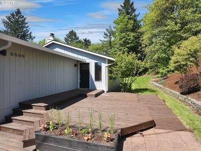 Single Family Home For Sale: 9503 SW 6th Ave