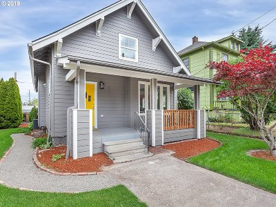 Multnomah County Single Family Home For Sale: 5236 NE 24th Ave