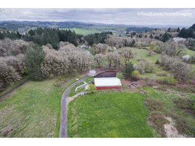 Yamhill Single Family Home For Sale: 24770 NW Mount Richmond Rd