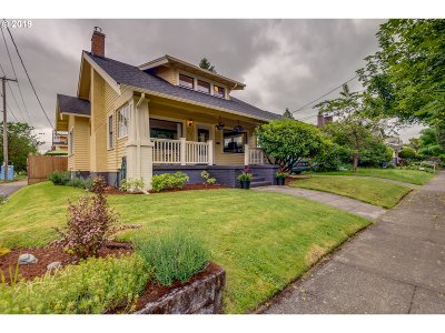 Portland Single Family Home For Sale: 4422 NE 29th Ave