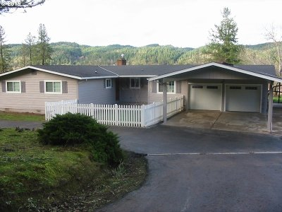 Sutherlin Single Family Home For Sale: 1940 South Side Rd