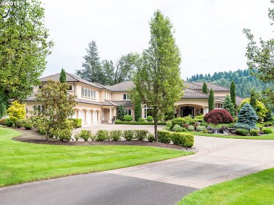 West Linn Single Family Home For Sale: 24140 SW Petes Mountain Rd