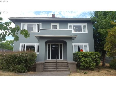 Clackamas County, Multnomah County, Washington County Multi Family Home For Sale: 5515 NE Cleveland Ave