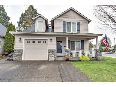 Canby Single Family Home Pending: 400 SW 14th Ct