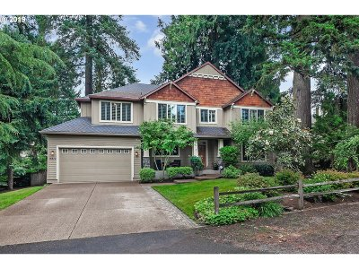 Lake Oswego Single Family Home For Sale: 15870 Twin Fir Rd