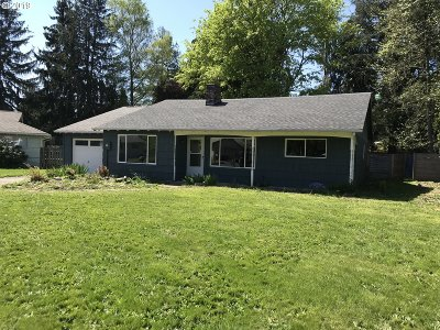 Milwaukie, Gladstone Single Family Home For Sale: 11041 SE 78th Ct