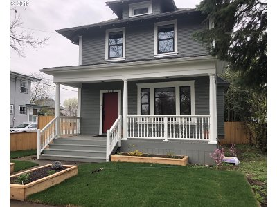 Single Family Home For Sale: 338 NE 78th Ave