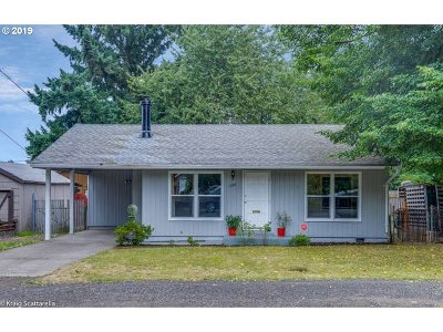 Portland Single Family Home For Sale: 1344 SE 86th Ave