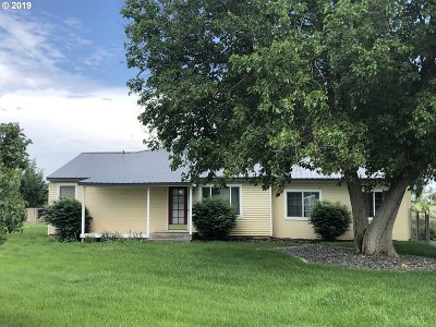 Umatilla County Single Family Home For Sale: 33316 Diagonal Rd