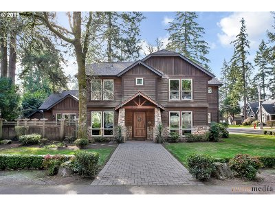 Lake Oswego Single Family Home For Sale: 4320 Haven St
