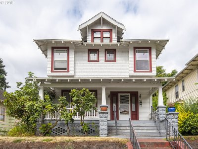 Portland Single Family Home For Sale: 4025 N Haight Ave