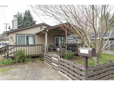 Canby Single Family Home For Sale: 311 N Knott St