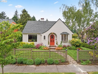 Portland Single Family Home For Sale: 4237 NE 38th Ave