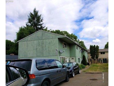 Wilsonville, Canby, Aurora Multi Family Home Short Sale Pending: 240 S Knott St