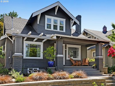 Single Family Home For Sale: 3228 SE 23rd Ave
