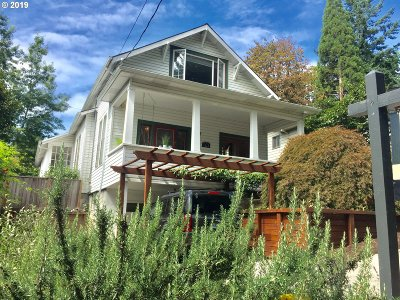 Portland Single Family Home For Sale: 7125 SW 3rd Ave