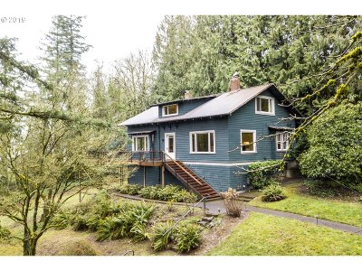 Portland Single Family Home For Sale: 6600 SW Barnes Rd