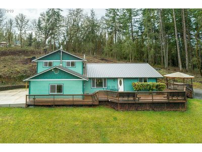 Eugene Single Family Home For Sale: 85129 Florence Rd