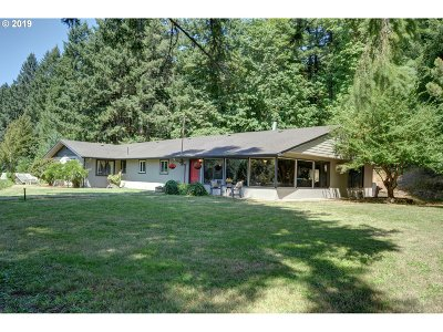 Springfield Single Family Home For Sale: 91090 Hill Rd