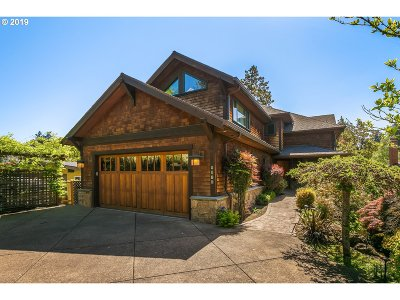 Lake Oswego Single Family Home For Sale: 4398 Lakeview Blvd