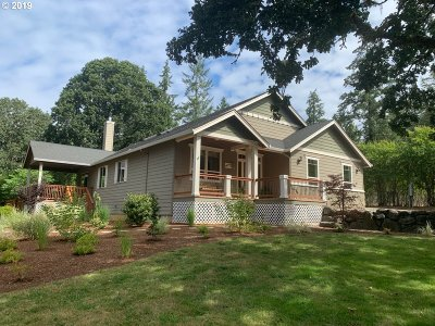Molalla Single Family Home For Sale: 17743 S Munson Rd