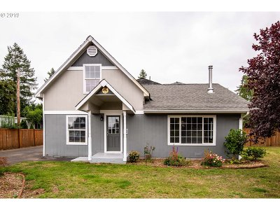 Single Family Home For Sale: 92171 Marcola Rd