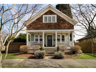Vancouver Single Family Home For Sale: 1615 Daniels St