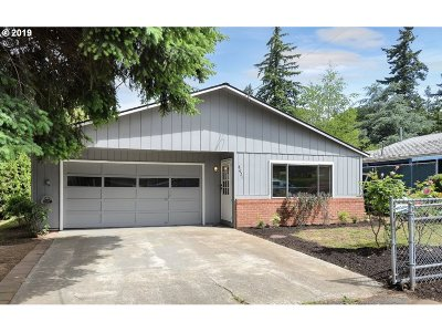 Happy Valley Single Family Home For Sale: 8621 SE Gray St