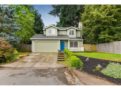 Beaverton Single Family Home For Sale: 4422 SW Appletree Pl