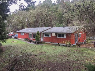 Canyonville Single Family Home For Sale: 520 Annis St