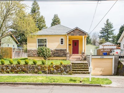 Single Family Home For Sale: 2612 SE 75th Ave