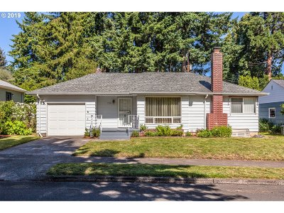 Single Family Home For Sale: 7726 SE 44th Ave