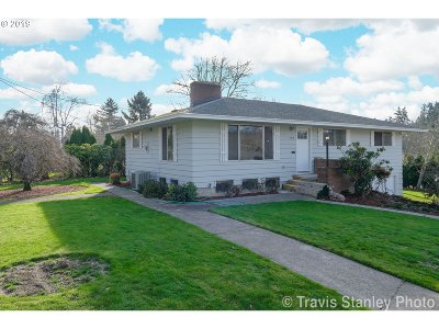 Single Family Home For Sale: 11816 SE 26th Ave