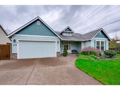 Canby Single Family Home Pending: 1492 NE 16th Ave