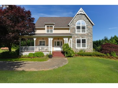 Single Family Home For Sale: 48555 NW John Lee Rd
