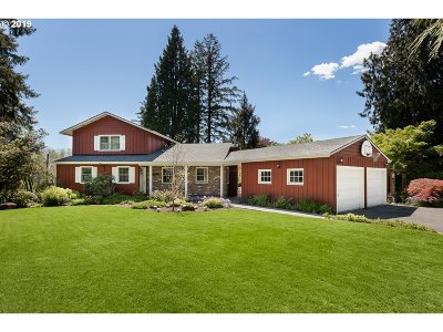 Beaverton Single Family Home For Sale: 4825 SW 98th Ave