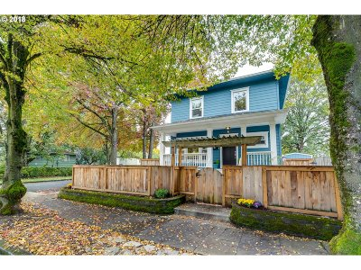 Portland Single Family Home For Sale: 5264 N Willis Blvd