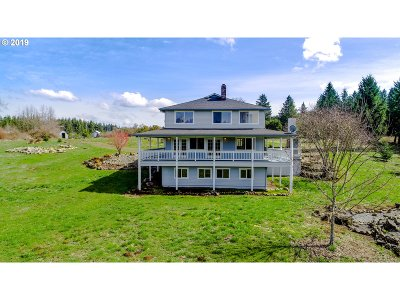 Molalla Single Family Home For Sale: 36751 S Hibbard Rd