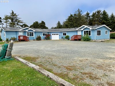 Bandon Single Family Home For Sale: 54515 Beach Loop Rd